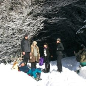 treffen im Schnee