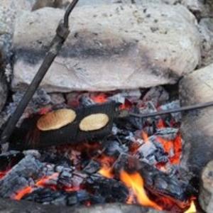 auf dem Feuer kochen