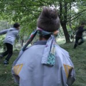 im Wald spielen